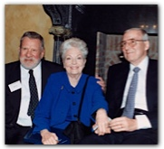 Bill Hobby with Ann Richards & Lloyd Bentsen, May 2000. Courtesy of the Hobby family.